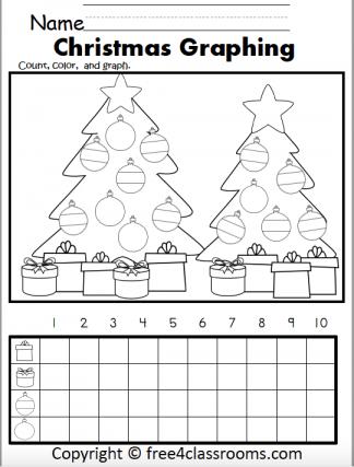 452 Christmas Color graph