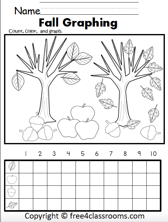 453 Fall Graphing Worksheet