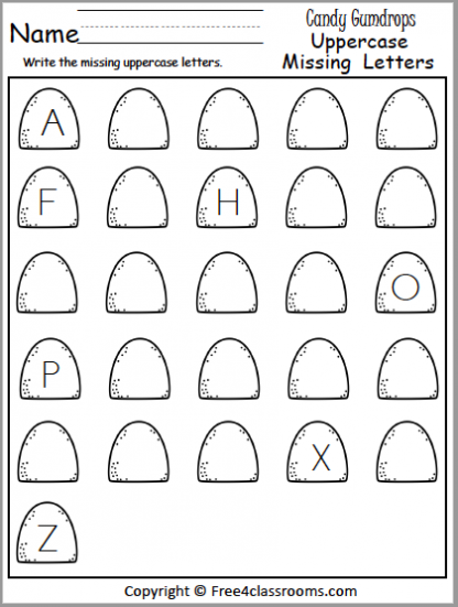 469 Uppercase Missing Letters