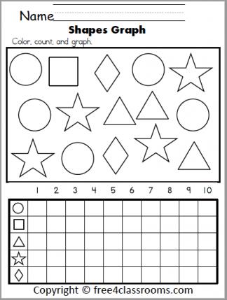 580 Shapes Graph