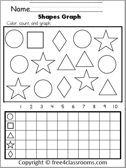 580 Shapes Graph