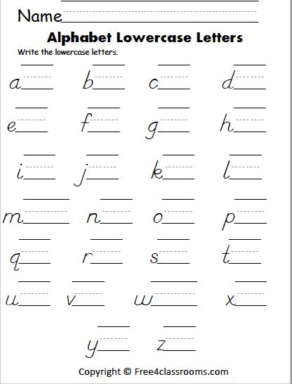 423 lowercase dnealian letters