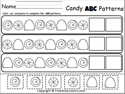 475 Candy ABC Patterns