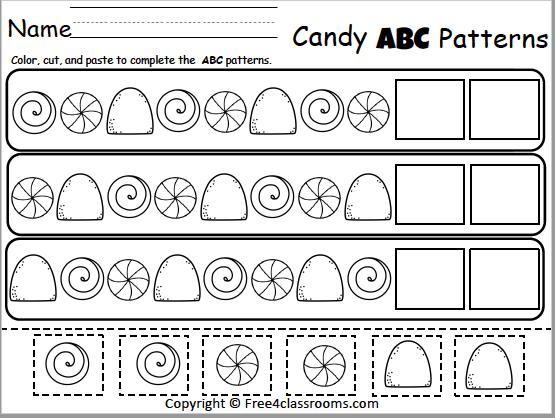 475 Candy ABC Patterns