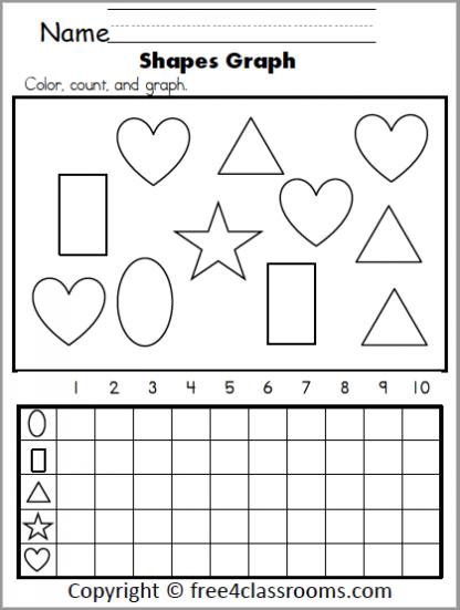 588 Math Shapes Graph