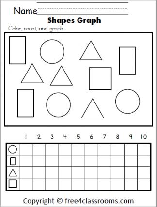 589 Shapes Math Graph
