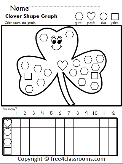 596 Clover Shapes Graphing