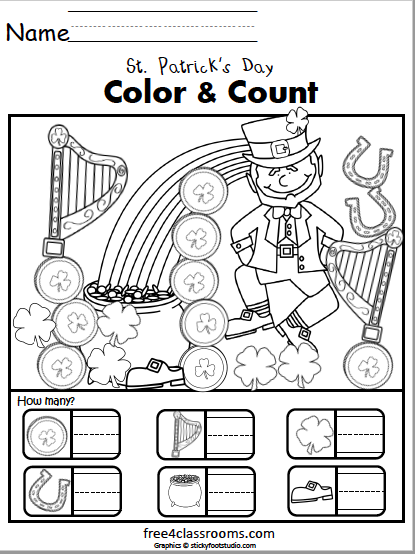 611 St Patricks color and count