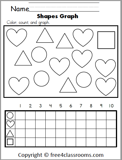 619 math shapes graphing hearts