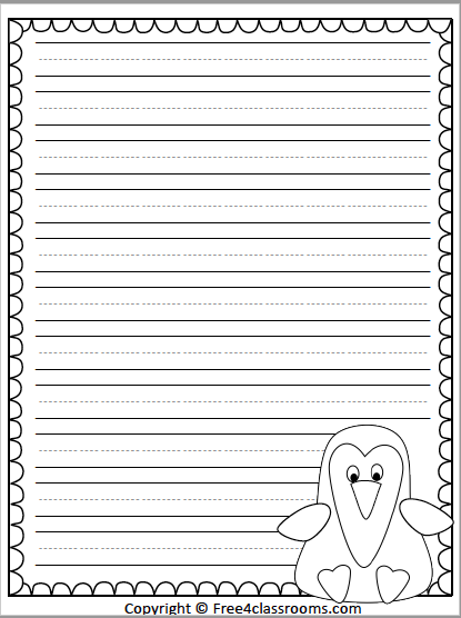 560 Penguin Writing Paper