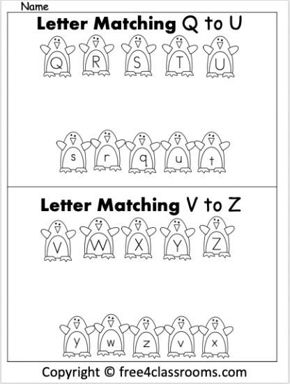 Free Letting Matching Q to Z penguins