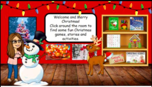 Christmas Bijmoji Virtual Classroom