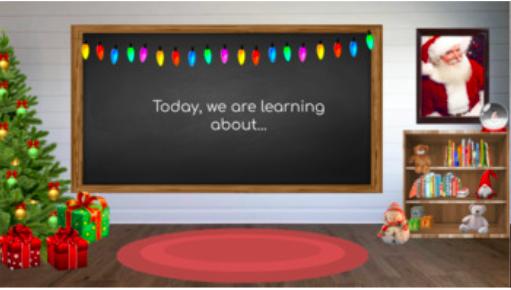 Free Christmas Bitmoji Virtual Classroom