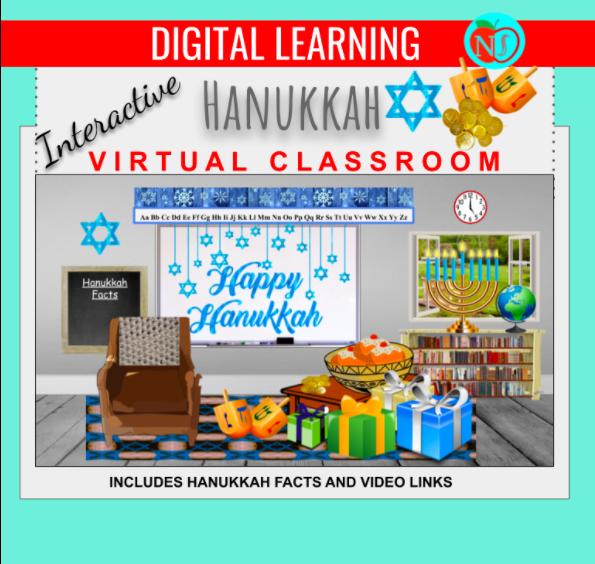 Hanukkah Virtual Classroom
