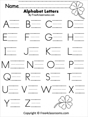 Free Letter Writing Worksheet
